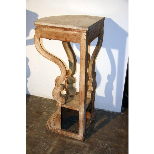 Early 20th Century 19th Century Italian Corner Consoles For Sale - Image 5 of 11