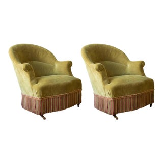 Pair of French 19th Century Armchairs For Sale