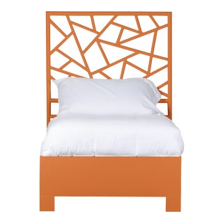 Tiffany Bed Twin - Orange For Sale