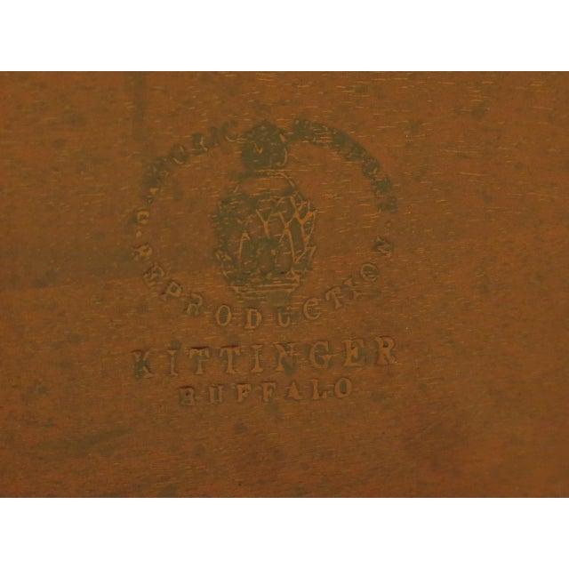 Kittinger Historic Newport Hn-6 Mahogany Tilt Top Table For Sale - Image 9 of 11