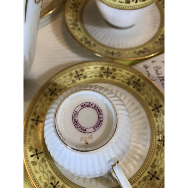 Bailey Banks Includes and Biddle Tea Set For Sale - Image 10 of 11