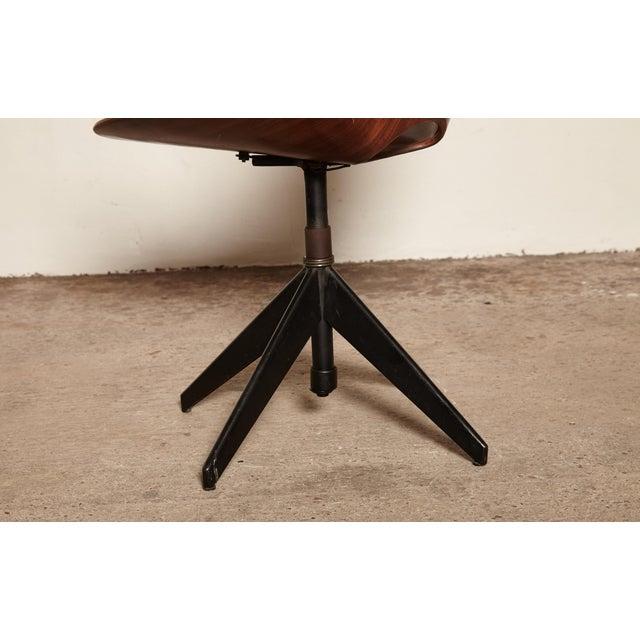 Vittorio Nobili for Fratelli Tagliabue Desk Chair, Italy, 1950s For Sale - Image 6 of 8