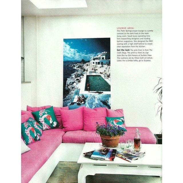 Hotel du Cap Eden print by Slim Aarons This is a new C type print printed from the original negative. It comes with...