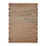 Image of Rug & Relic Multi-Color Turkish Kilim | 5' X 6'6 Flatweave For Sale