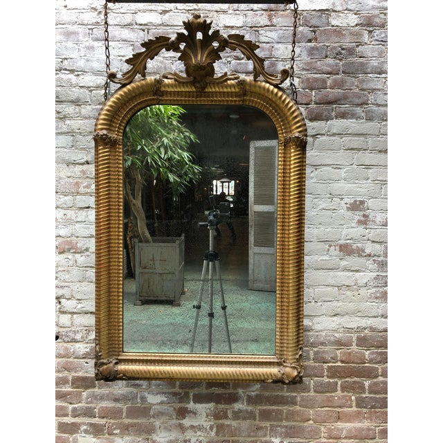 Stunning Early 19th Century Mirror For Sale - Image 9 of 10