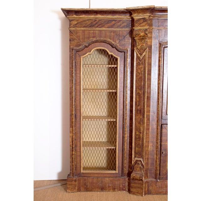 Mid-19th Century Italian Rococo Style Bookcase For Sale - Image 4 of 13