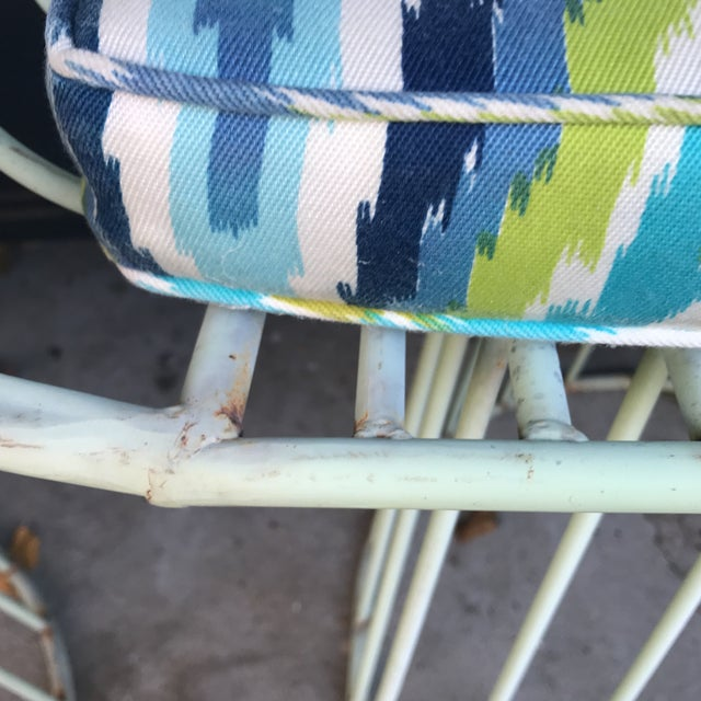 Mid-Century Indoor Outdoor Trina Turk Chairs - a Pair - Image 8 of 9