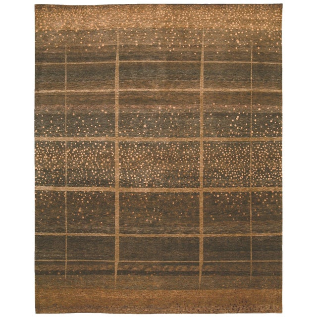 ModernArt - Customizable Sienna Rug (6x9) For Sale