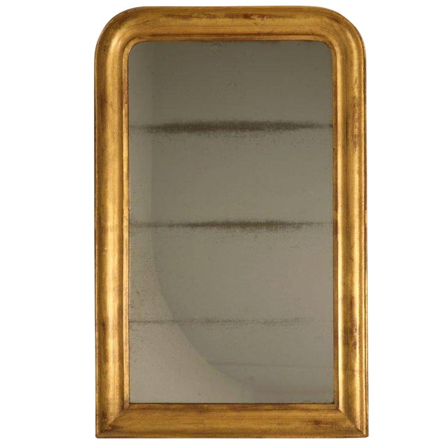 French Louis Philippe Gilt Mirror, Circa 1850 For Sale
