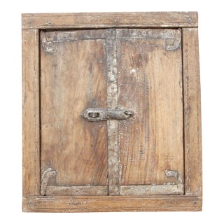 Antique Tibari Window Mirror For Sale