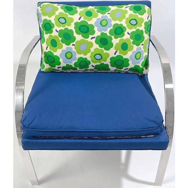 """Mid-Century Modern Pair of """"Arco"""" Club Chairs In The Style Of Paul Tuttle For Sale - Image 3 of 8"""