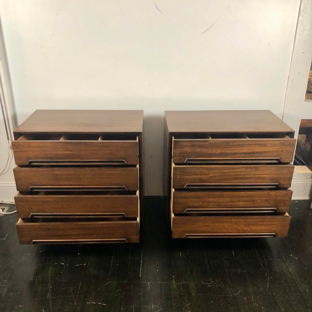 Milo Baughman for Drexel Perspective Chests - a Pair For Sale In San Antonio - Image 6 of 12