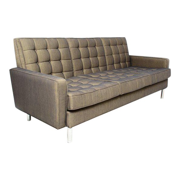 Mid-Century Modern Sofa After Florence Knoll For Sale