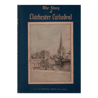 "1933 ""The Story of Chichester Cathedral"" Collectible Book For Sale"