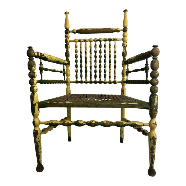American Fancy Spindle Chair For Sale