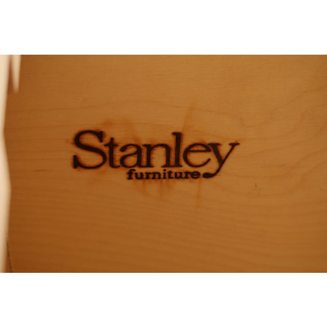 Stanley 2 Piece Shaker Style Maple Hutch File Cabinet For Sale - Image 9 of 10