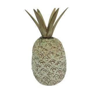 Vintage Ceramic Painted Pineapple