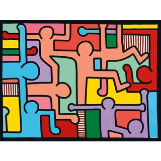 Keith Haring, Untitled, Figures Print For Sale