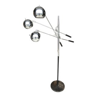 Sonneman Orbiter Three Arm Floor Lamp For Sale