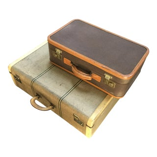 VIntage T Anthony Luggage - A Pair
