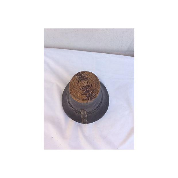 Handmade African Wooden Jug For Sale In Los Angeles - Image 6 of 7