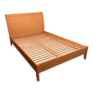 Queen Maple Platform Bed For Sale