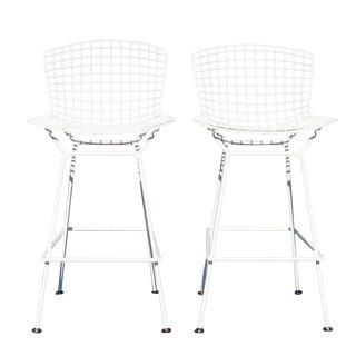 Knoll Bertoia Bar Stools- A Pair For Sale