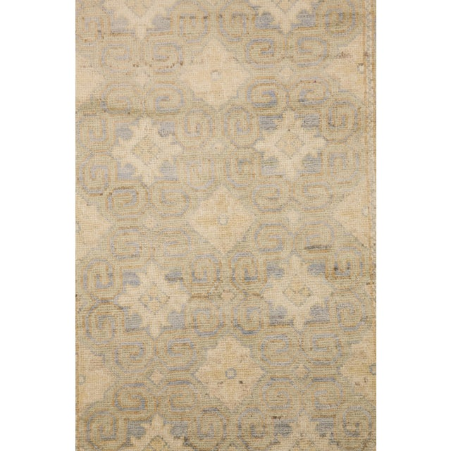 """Islamic Khotan, Hand Knotted Runner - 2'7"""" X 9'10"""" For Sale - Image 3 of 3"""