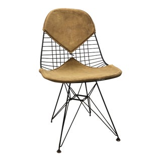 Mid-Century Modern Eames for Herman Miller Wire Eiffel Chair For Sale