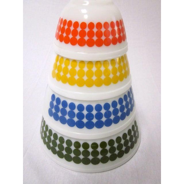 Pyrex Dots Mixing Bowls - Set of 4 - Image 3 of 7