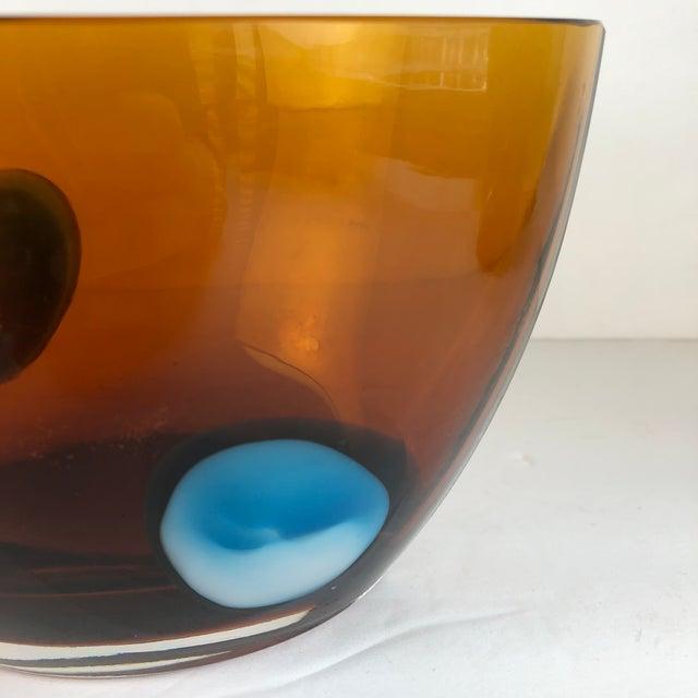 Orange Waterford Crystal Modern Evolution Bowl For Sale - Image 8 of 11
