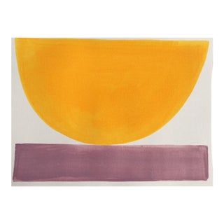 """2010s Abstract Original Painting, """"Babouche Bowl"""" by Jenny Andrews Anderson"""