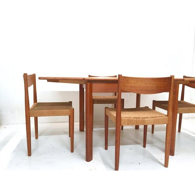 1960s Danish Mid-Century Modern Teak Dining Set - Image 9 of 11