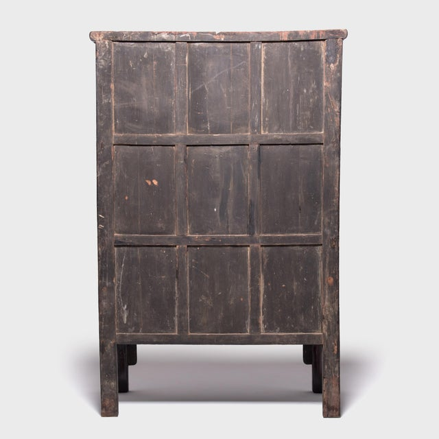 19th Century Chinese Grand Seven Drawer Cabinet For Sale - Image 4 of 10
