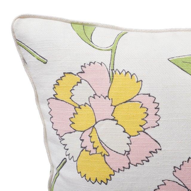 Contemporary Schumacher X Celerie Kemble Bouquet Toss Pillow in Pink Lemonade For Sale - Image 3 of 5