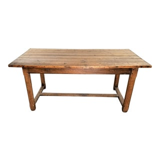 19th Century French Oak Rustic Coffee Table For Sale