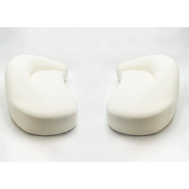 Textile Mid-Century Sofas Set by Raphael Raffel for Honore Paris 1970s - 4 Available For Sale - Image 7 of 13