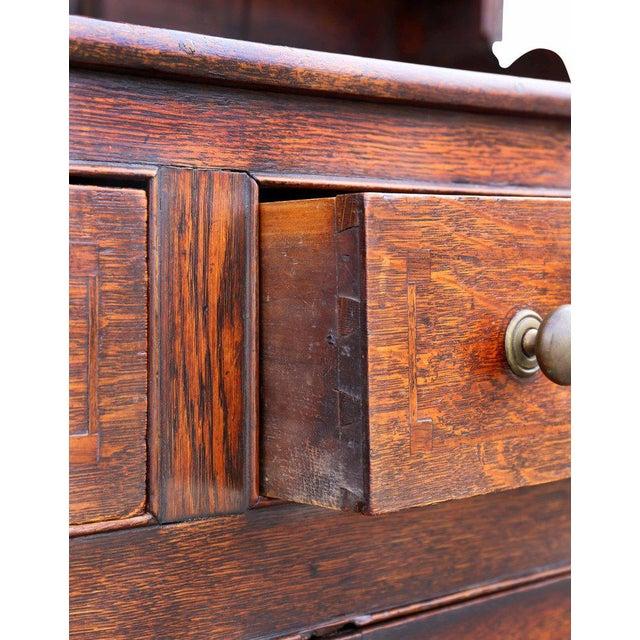 George III Oak Welsh Dresser For Sale - Image 5 of 11