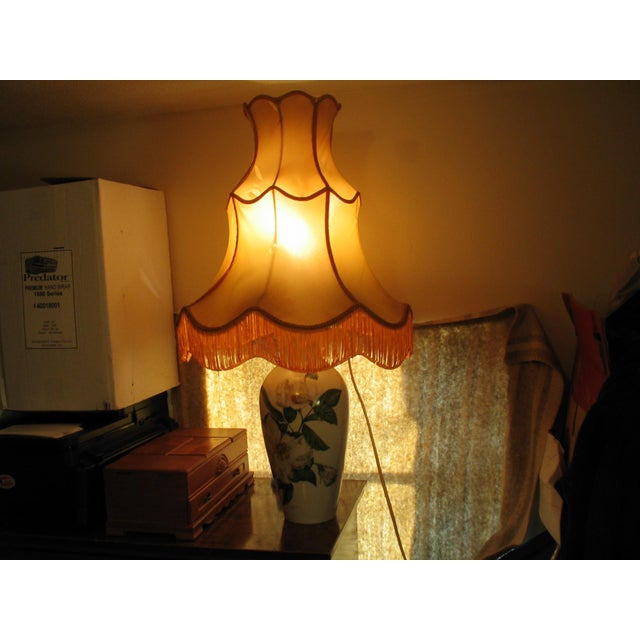 Mid-Century Rosenthal Selb Bavaria Germany Large Table Lamp For Sale - Image 5 of 8