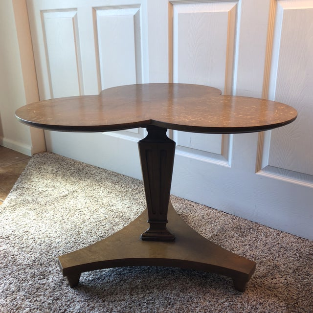 Mid 20th Century Lane Furniture Mid-Century Modern Shamrock Nesting Table For Sale - Image 12 of 12