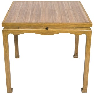 James Mont Style Card Table For Sale