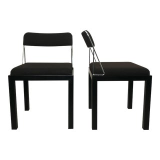 Pair of Lodge Chairs by Sottsass For Sale