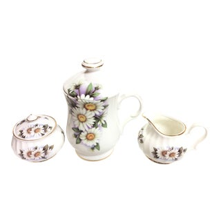 Small Porcelain Tea/Coffee Set - Set of 3