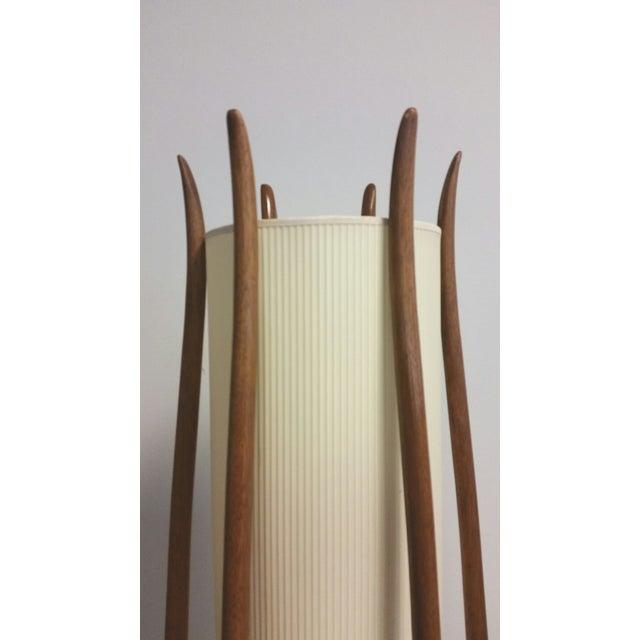 Danish Modern Modeline Mid-Century Modern Teak Floor Lamp For Sale - Image 3 of 5