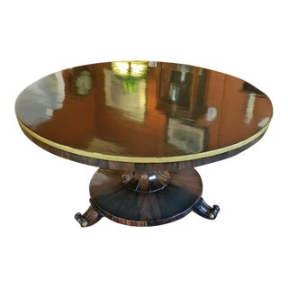 British Regency Tilt Top Center Table