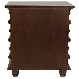 Ascona Side Table, Hand Rubbed Brown Preview