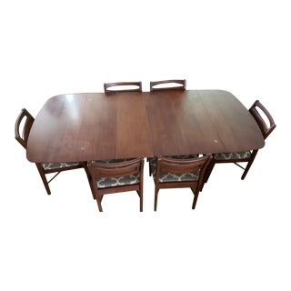Mid-Century Modern Dining Set For Sale