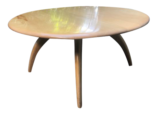 HeywoodWakefield Round Coffee Table Chairish