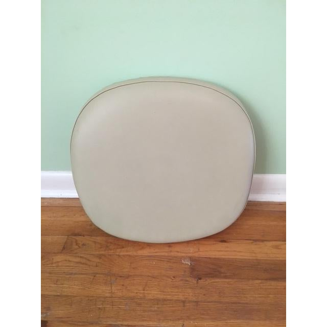 Authentic Saarinen Tulip Chair Seat Pad by Knoll (Please see note below regarding the Chair) Leather Seat w/ Leather &...