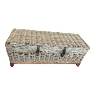 Bayside Storage Table With Storage by Jeffan For Sale